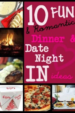 10 Fun & Romantic Date Night IN ideas