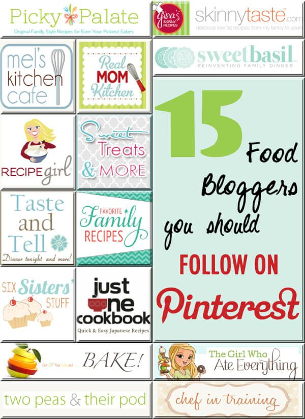 15 Bloggers to Follow