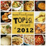 Feature Friday: Top 12 Recipes of 2012