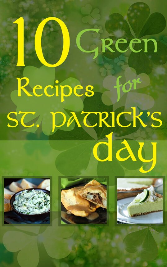 10 Green Recipes for St. Patricks's Day