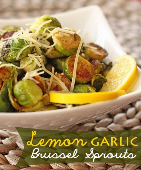 Sauteed Lemon-Garlic Brussel Sprouts