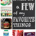 Feature Friday: These Are A Few Of My Favorite Things