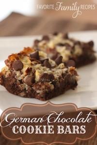 German-Chocolate-Cookie-Bars