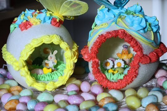 Panoramic Easter Eggs