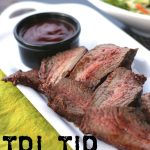 BBQ Tri-Tip with a Tangy Homemade BBQ Sauce