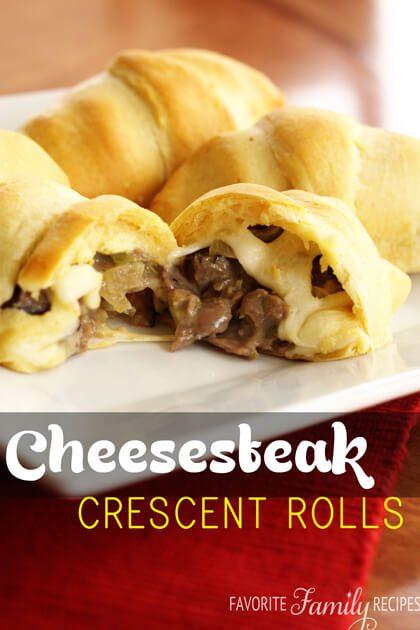 Cheesesteak-Crescent-Rolls