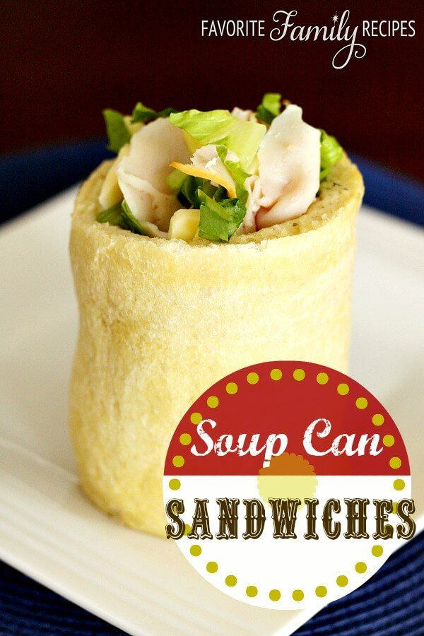 Soup Can Sandwiches