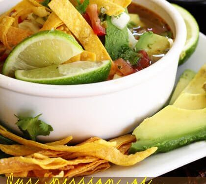Cafe Rio Chicken Tortilla Soup Recipe