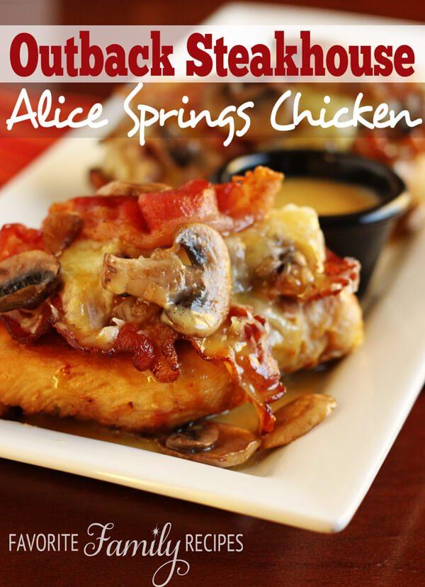 Healthy Alice Springs Chicken Recipe