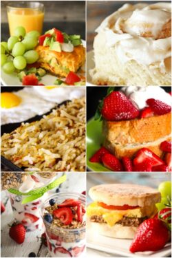 Collage of Delicious Breakfast Recipes