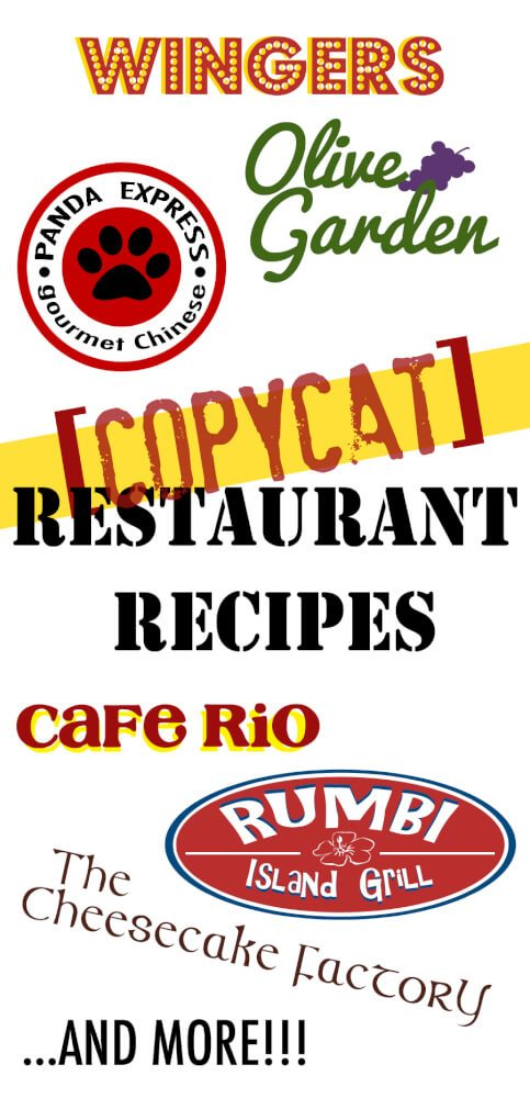 Copycat Recipes!