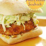 Our Version of Donnie Mac's Fried Chicken Sandwich