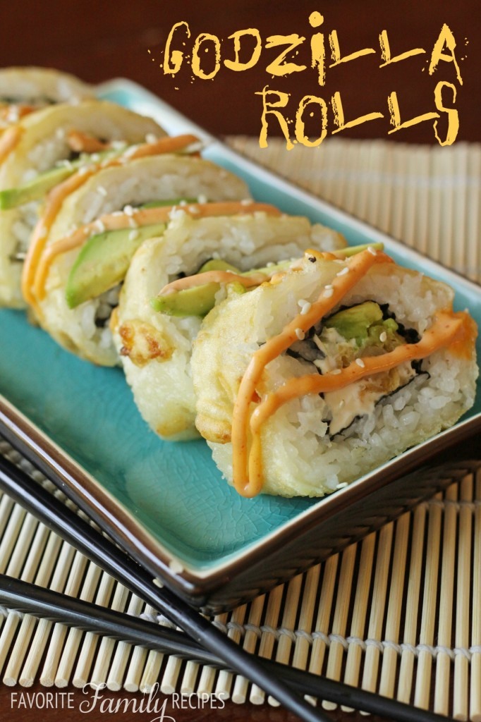Godzilla Rolls from favfamilyrecipes.com