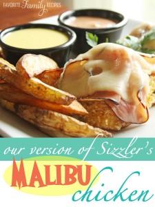 Sizzler Malibu Chicken