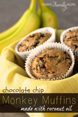 Chocolate Chip Monkey Muffins