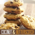 coconut butterscotch chocolate chip cookies