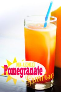 Pomegranate Sunrise (Non-Alcoholic) Drink