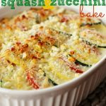 Parmesan Squash and Zucchini Bake
