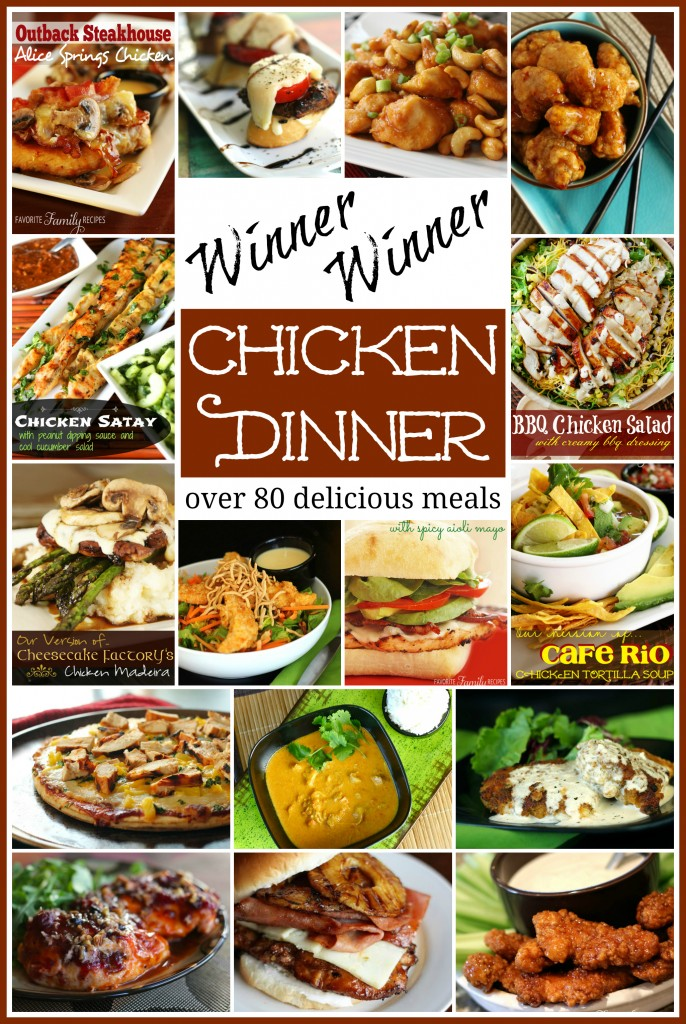 Winner Winner Chicken Dinner from favfamilyrecipes.com