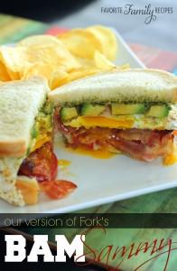 Fork's BAM Sammy Sandwich