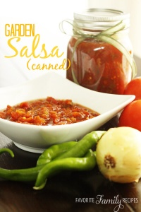 The Best Canned Salsa from FavFamilyRecipes.com