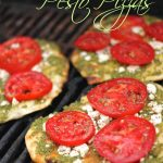 Grilled Pesto Pizzas