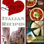 Feature Friday: We Love Italian Recipes