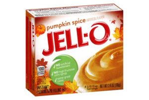 Pumpkin Spice Jell-O Pudding