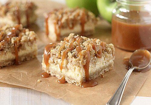 Apple Streusel Cheesecake Bars (Best Yummy)