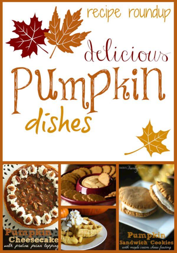 Feature Friday: Pumpkin Recipes