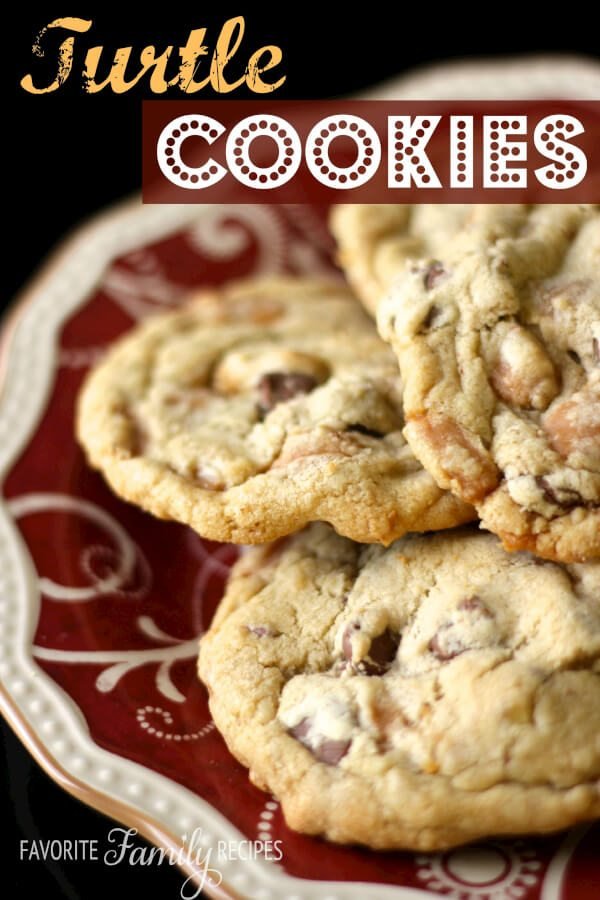 Turtle Cookies -Favorite Family Recipes