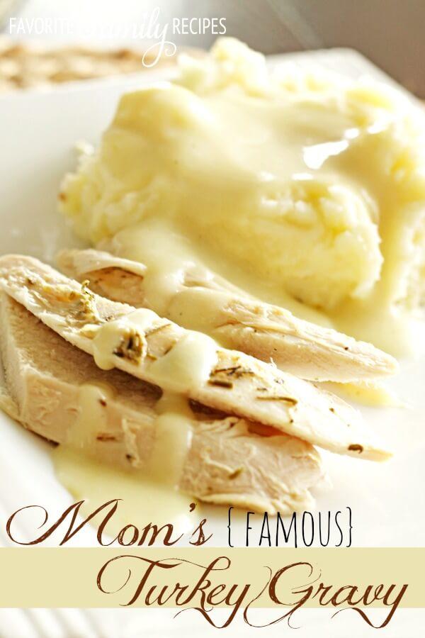 Mom's Famous Turkey Gravy