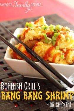 Bonefish Grill Bang Bang Shrimp or Chicken Recipe