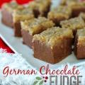 German Chocolate Fudge Recipe