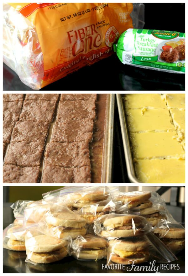 Light Breakfast Sandwiches 2