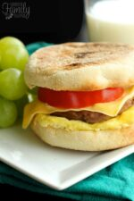 Light Freezer Breakfast Sandwiches Recipe