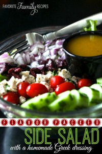 Side Salad with Greek Dressing