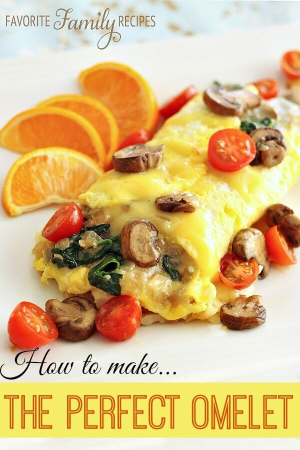 The Perfect Omelet, How to make