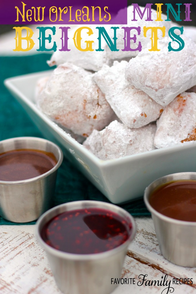 Mini Beignets from favfamilyrecipes.com
