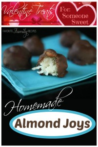 Valentine Almond Joys