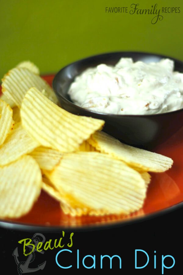 Beau's Clam Dip | Favorite Family Recipes