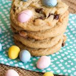 Easter Cadbury Egg Cookies