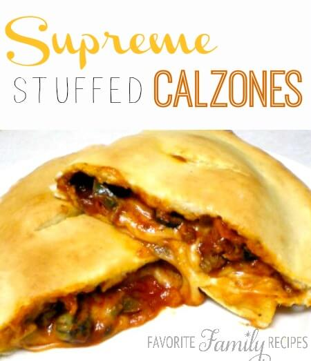 Supreme Stuffed Calzones