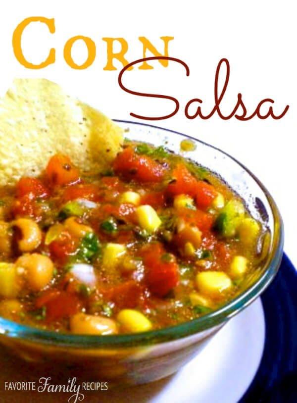 Jared's Corn Salsa