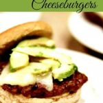 Cracked Pepper and Roasted Garlic Burgers