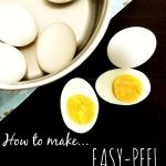 Perfect Easy Peel Hard Boiled Eggs
