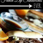 Super Easy French Dip Subs