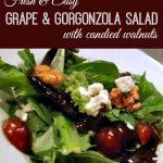 Grape and Walnut Salad