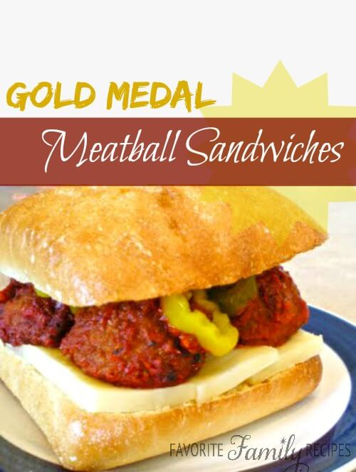 Gold Medal Meatball Sandwiches