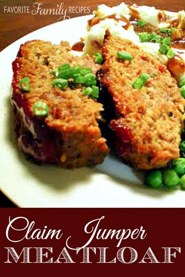 Our Version of Claim Jumper's Meatloaf